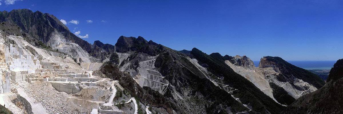 Il marmo delle Alpi Apuane
